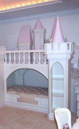 cama infantil estilo castelo