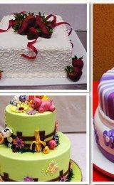 decoração de bolos para festa