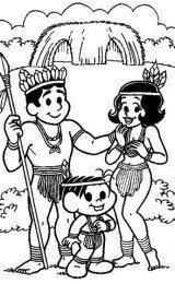 desenhos de índios online
