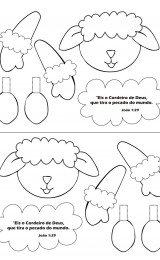 pascoa cristã desenhos para colorir