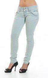 calça jeans feminina cor clara