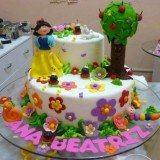 bolo infantil de festa de princesa