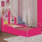 cama infantil rosa