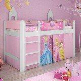 cama infantil tema princesas