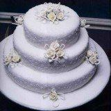 decoracao de bolos branco enfeitado