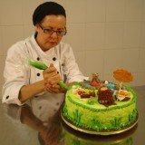 decoracao de bolos estilo floresta