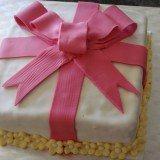 decoracao de bolos tipo caixa de presente