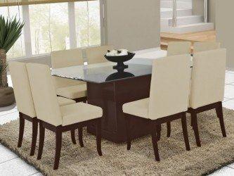 linda mesa para sala de jantar