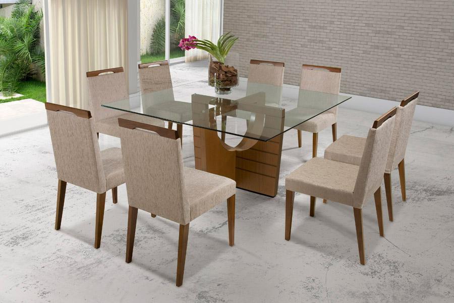 Mesa Para Sala De Jantar Com Vidro ~ Dicas de mesa para sala de jantar de vidro ou madeira super modernas