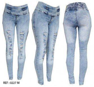 calça jeans feminina rasgadinha