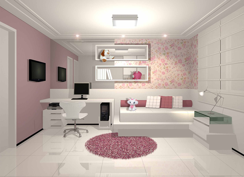 Decoração para quarto feminino veja algumas dicas bacanas Jet  #98334C 2480x1795