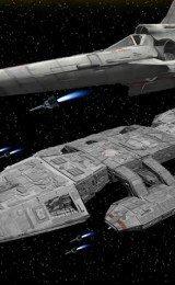 naves espaciais papel de parede