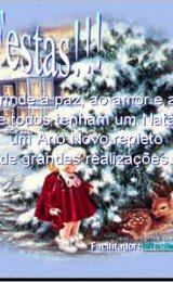 cartoes de boas festas para facebook