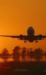 fotos de avioes decolando
