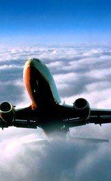 fotos de avioes nas nuvens