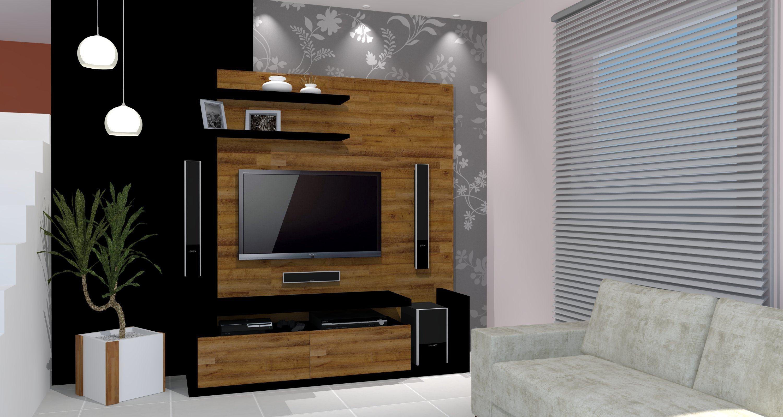 Sala De Tv Tipo Home ~ Home para sala de tv modelos planejados  Jet Dicas