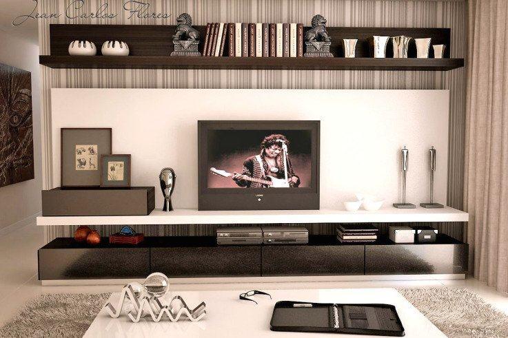 Fotos Home Para Sala De Tv ~ Home para sala de tv modelos planejados  Jet Dicas