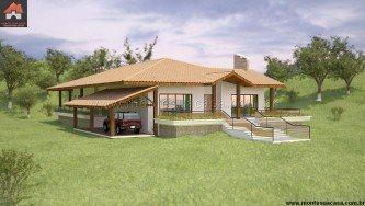 dicas de projetos de casas de fazenda