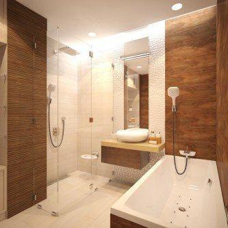 banheiros modernos com porcelanato