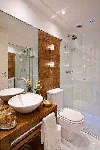 tipos de banheiros modernos com porcelanato