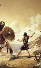 davi e golias da biblia