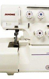 máquina overlock de costura
