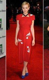 belos vestidos vermelhos