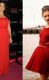 modelos de vestidos vermelhos