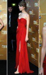 vestidos vermelhos