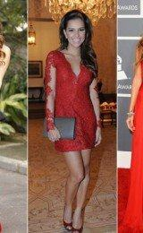 vestidos vermelhos de festas