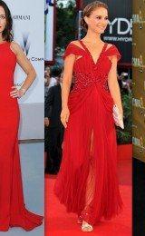 vestidos vermelhos longos