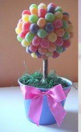 enfeites de festa infantil com doces