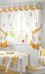 cortinas para cozinha com estampas