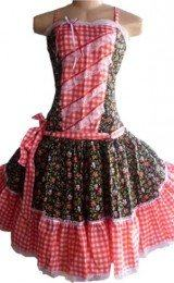 vestido para festa junina estampados