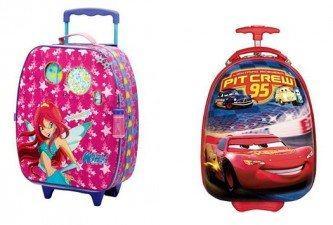 belas malas de viagem infantil