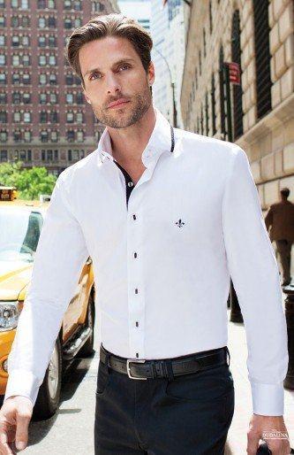 fotos de camisa masculina social dudalina