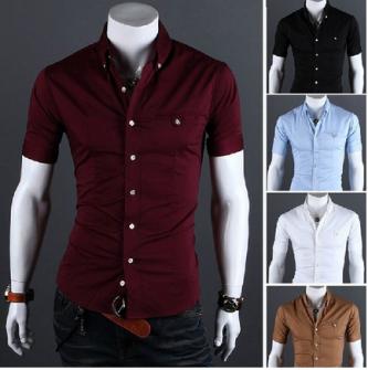 modelo de camisa masculina social