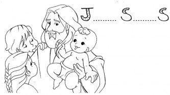 desenhos bíblicos jesus