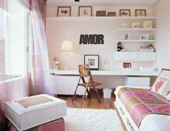quartos de solteiro feminino modernos
