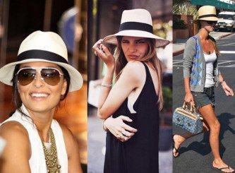chapéus panamá femininos