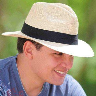 fotos de chapéus panamá masculino