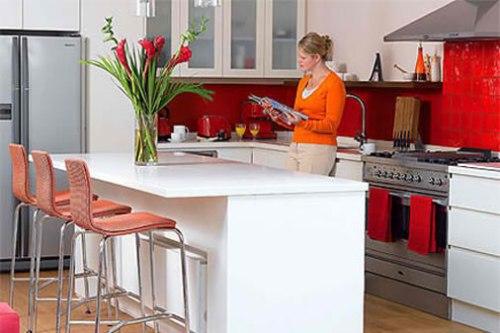 Cozinha americana pequena especial para pequenos - Decorar interiores de casas pequenas ...