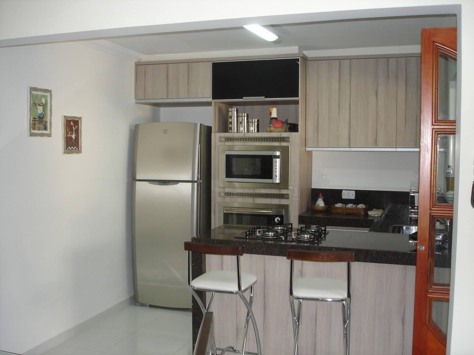 Modelos De Cozinha Americana Ideias Simples E Pr Ticas Jet Dicas -> Sala Simples Projetada