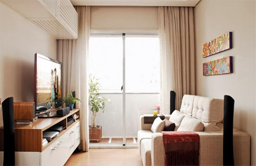 Apartamentos decorados pequenos e sofisticados jet dicas for Apartamentos decorados pequenos