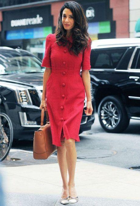 vestido-vermelho-para-o-trabalho
