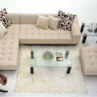 Sofá de CANTO retrátil e reclinável na sala