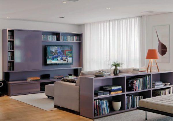 HOME para sala de tv modelos planejados