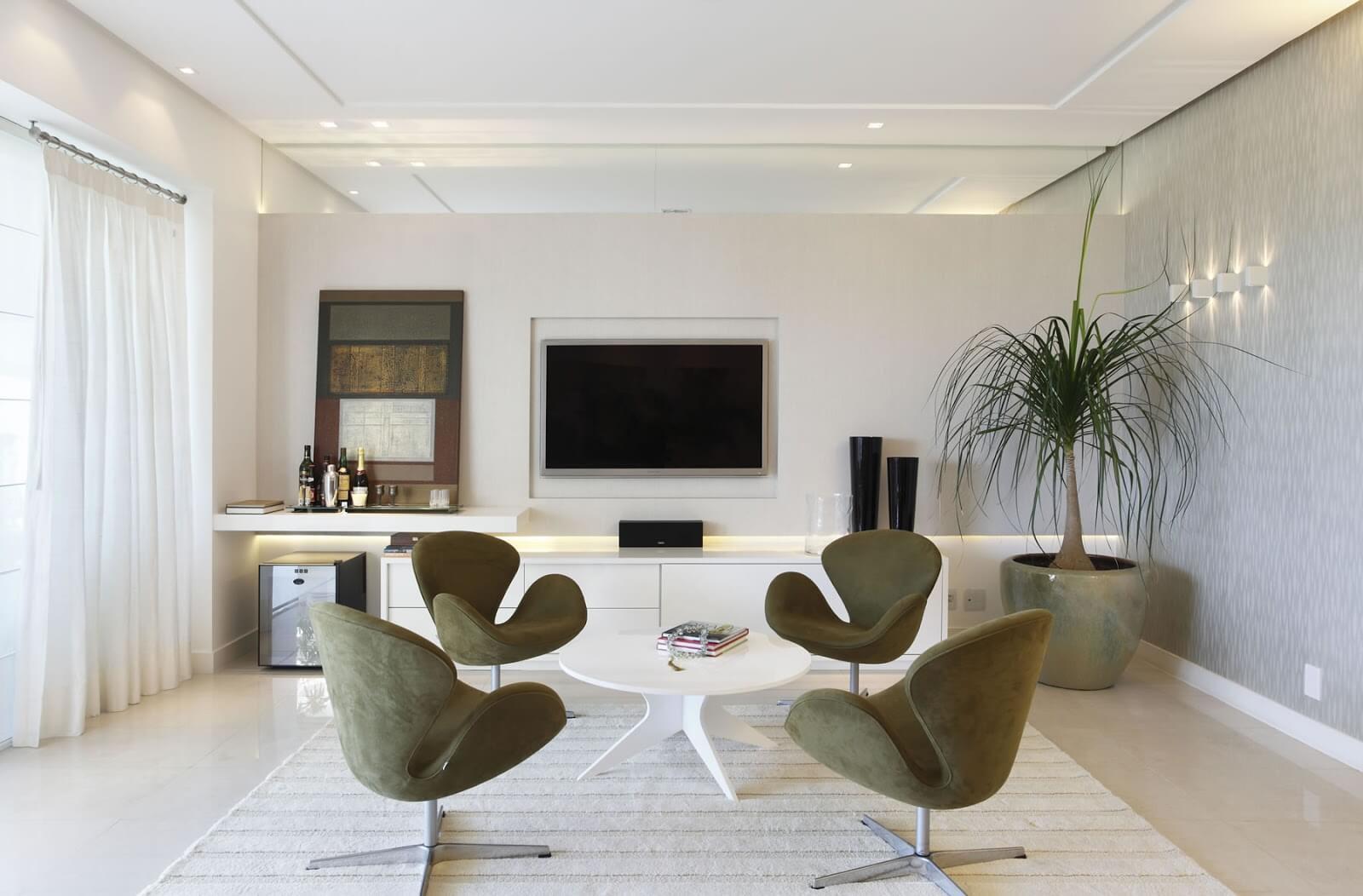 Home Para Sala De Tv Modelos Planejados Jet Dicas -> Sala Simples Projetada