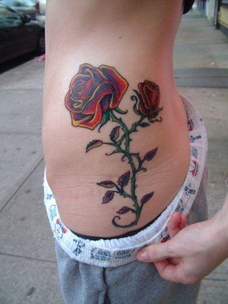 tatuagem-feminina-flores