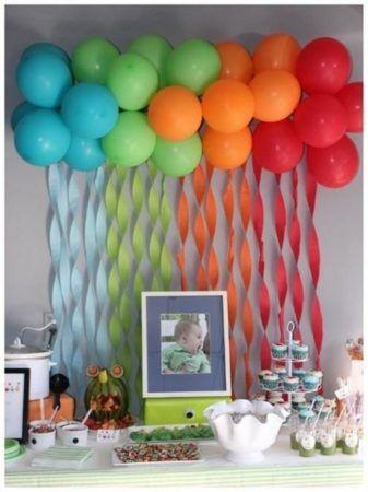 Belos enfeites de festa infantil, temas e balões